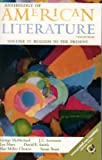 img - for Anthology of American Literature, Volume II: Realism to the Present (Anthology American Literature) book / textbook / text book