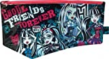 Monster High Large Flat PVC Stationery Character Pencil Case