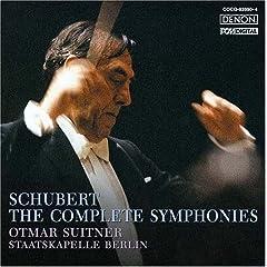 国内盤 オトマール・スウィトナー指揮 シューベルト:交響曲全集のAmazonの商品頁を開く