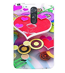 GADGET LOOKS PRINTED BACK COVER FOR LG G3 Stylus MULTICOLOR