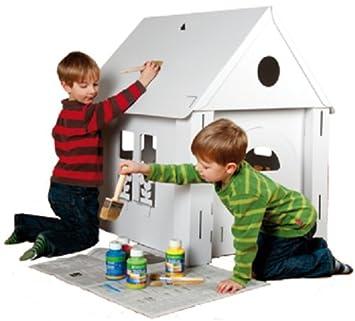 Calafant Casetta Per Giochi Da Costruire E Colorare Giochi E