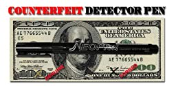 NEOPlex Counterfeit Currency/Money Detection Marker Pen - Set of 10