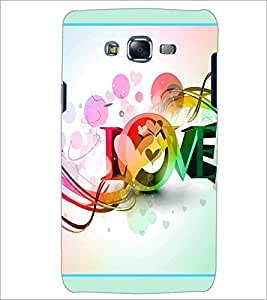 PrintDhaba Love D-2089 Back Case Cover for SAMSUNG GALAXY J5 (Multi-Coloured)