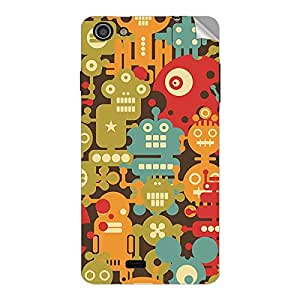 Garmor Designer Mobile Skin Sticker For XOLO Q900S - Mobile Sticker