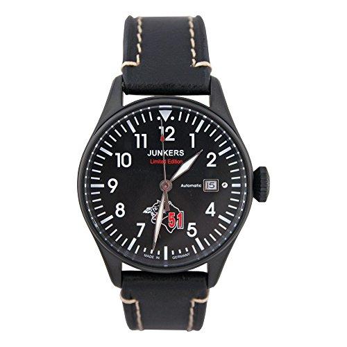 Junkers orologio da polso automatico per uomo Limited Edition Luftwaffe squadroni 51Immel Mann