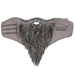 neff Men\'s Bearded Facemask, Grey, One Size