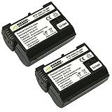 Wasabi Power Battery for Nikon EN-EL15 (2-pack)