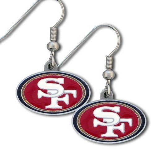 NFL San Francisco 49ers Dangle Earrings at Amazon.com
