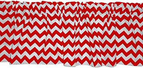 BabyDoll Bedding Baby Doll Chevron Dot Valance