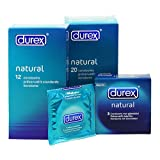 Durex Natural Condoms - 12 pack
