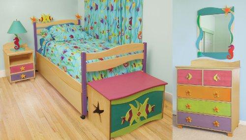 Cheap Room Magic Tropical Sea Bedroom Set Kids Bed (RM139-TS)