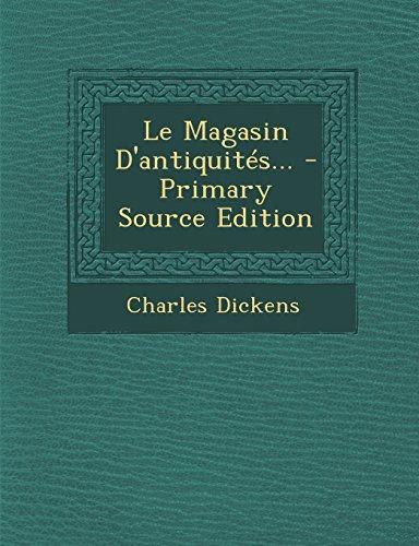 Le Magasin D'antiquités...