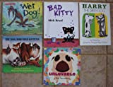 img - for Pet Dogs and Cats: Set of 5 Books (Wet Dog! ~ Unloveable ~ Harry the Dirty Dog ~ The Dog Who Had Kittens ~ Bad Kitty) book / textbook / text book