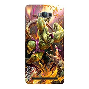 Premium Quality Mousetrap Printed Designer Full Protection Back Cover for Asus Zenfone Max-496
