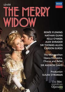 The Merry Widow: The Metropolitan Opera (Davis) [Blu-ray] [2015] from Decca