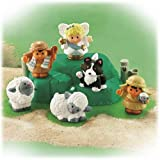 Fisher Price Little People Deluxe Lil' Shepherds Christmas Nativity Add-On Set
