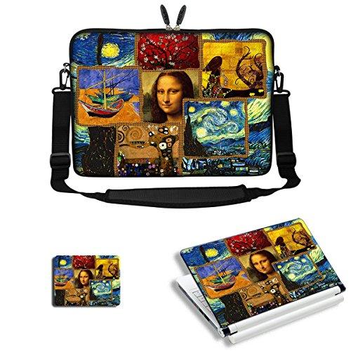 08. Meffort Inc 15 15.6 inch Laptop Carrying Sleeve Bag Case with Hidden Handle & Adjustable Shoulder Strap