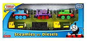 Fisher-Price Thomas & Friends Steamies vs. Diesels Train
