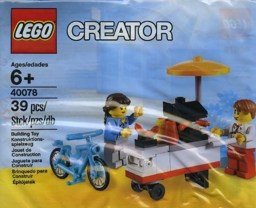 Lego Exclusive Creator 40078 Hot Dog Stand front-918973