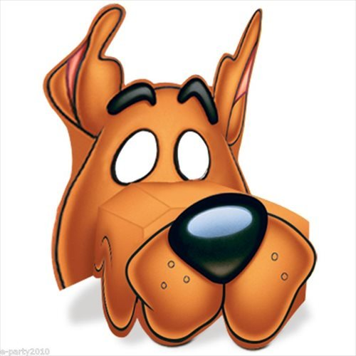 Scooby Doo Masks 4ct