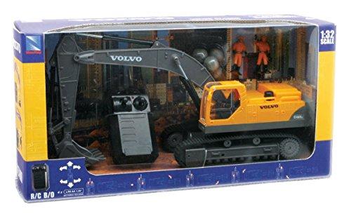 new-ray-88103-remote-control-vehicle-volvo-ec-460b-excavator-27-mhz