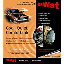 HushMat 10150 Ultra Black Foil Starter Kit with Damping Pad - 4 Piece