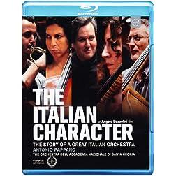 Italian Character: Story Of A Great Italian Orchestra (Blu Ray) [Blu-ray]