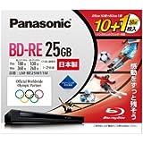 パナソニック 録画用2倍速BD(書換型)25GB10枚+50GB 1枚