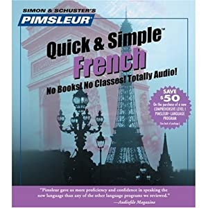 Learn French  Quick & Simple by Pimsleur