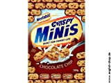 Weetabix Crispy Minis Chocolate Chip Box 500G pack of 6
