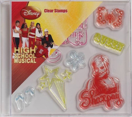 Plaid Plaid Clear Stamps In Case, High School Musical Sharpay