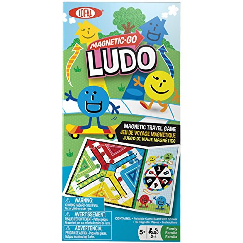 Ideal Magnetic Go Ludo Travel Game