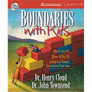 &#8220;Boundaries with Kids&#8221;  by Henry Cloud &#038; John Townsend :Book Review