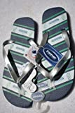 Seattle Mariners Flip flops Sandals team logo size large Amazon.com