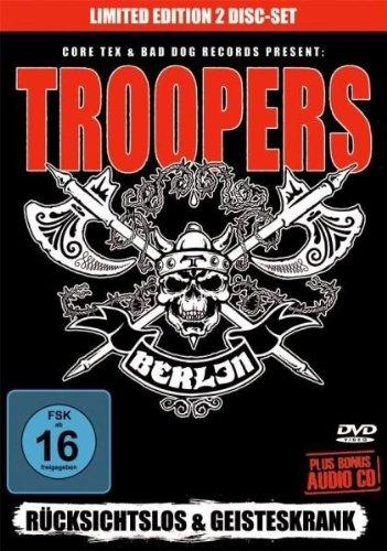 Troopers - Rücksichtslos & geisteskrank (+ CD) [Edizione: Germania]