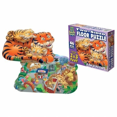 Cheap Fun Patch 1308 Sneaky Floor Puzzle- Zoo- Pack of 2 (B005GVBU2A)