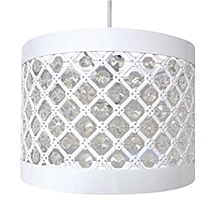 Easy Fit Moda Sparkly Ceiling Pendant Light Shade Fitting Modern Decoration by Country Club