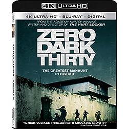 Zero Dark Thirty [4K Ultra HD + Blu-ray]