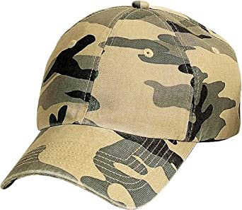 Port Authority - Camouflage Cap, Desert Camo