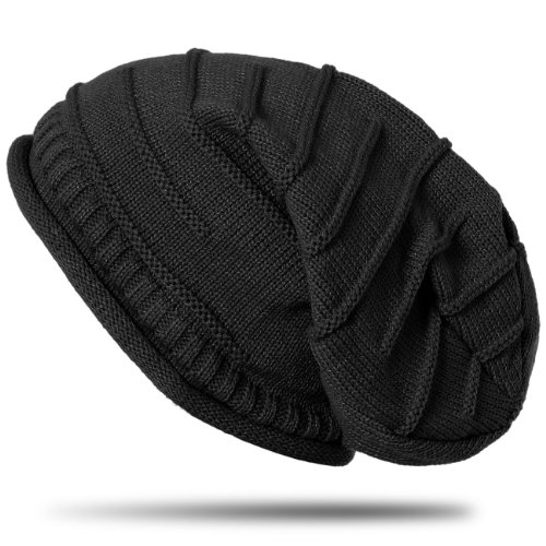 CASPAR-MU079-Bonnet-classique-unisexe-Slouch-Beanie-avec-des-motifs-originaux