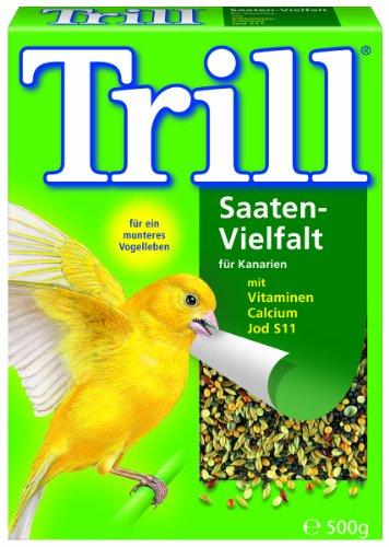 Trill Saaten-Vielfalt für Kanarien, 3er Pack