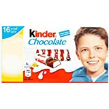 Kinder Chocolate Mini Treats 16 Pieces 200 g (Pack of 10)