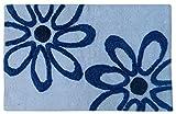 Paramorasi Flower cotton door mats / bath mats
