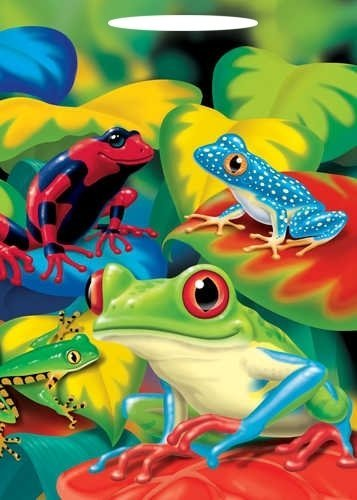 Frog Party Treat Bags (8 ct) - 1