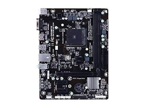 GIGABYTE GIGABYTE GA-AM1M-S2H Socket AM1 DDR3 SATA3&USB3.0 A