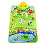 Tonsee® Music Sound Farm Animal Kids Baby Play Playing Mat Carpet Playmat Gym Toy 60cm x 40cm2362 x 1575 inch