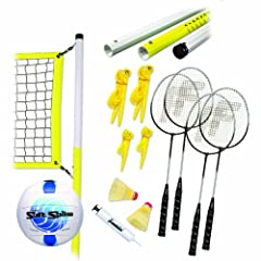 Buy Franklin Sports Advanced Volleyball and Badminton Set by Franklin