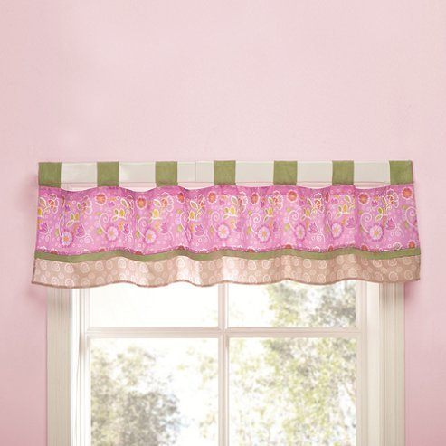 Kidsline Blossom Tails Crib Bedding Collection (Window Valance)