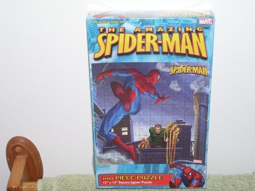 The Amazing Spiderman 100 Piece Puzzle