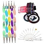 Set Kit Nail Art Professionnel Qualit...